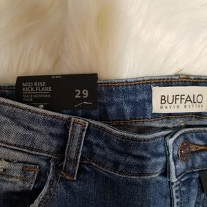 Buffalo David Bitton Jeans - NWT Buffalo David Bitton Mid Rise flare jeans F5